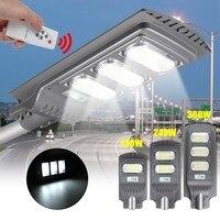 120W 240W 360W LED oświetlenie zewnętrzne solarna ścienna radary indukcyjne ogród lampa rozrządu lampa uliczna LED z pilotem w Oświetlenie uliczne od Lampy i oświetlenie na