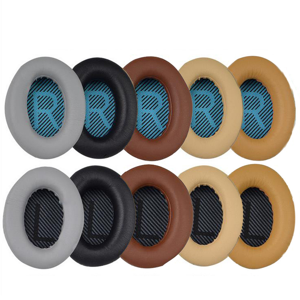 Replacement Protein Multi Colors Foam Ear Pads Cushions For Bose For Quietcomfort 2 QC35 QC25 AE2 QC2 QC15 AE2I Headphones
