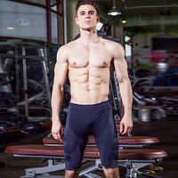 Neue Lauf Shorts Männer Fitness Engen Sport Kurze Hosen Quick Dry Leggings Sport Kleidung Kompression Crossfit männer Shorts