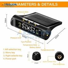 Auto-Alarm-Tool Pressure-Monitoring-System Tire-Pressure-Gauge Car-Tire Digital LCD Display