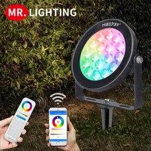 Miboxer Waterproof led outdoor light Miboxer 9W RGB + CCT WiFi Smart LED