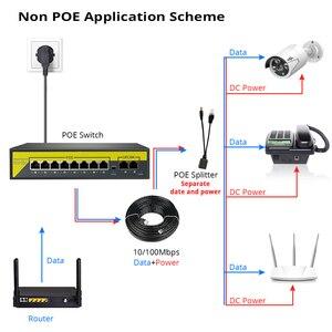 Image 3 - Hiseeu 48v 8/16ポートpoeスイッチイーサネット10/100mbpsのieee 802.3 af/ipカメラで/cctvセキュリティカメラシステム/ワイヤレスapフィート