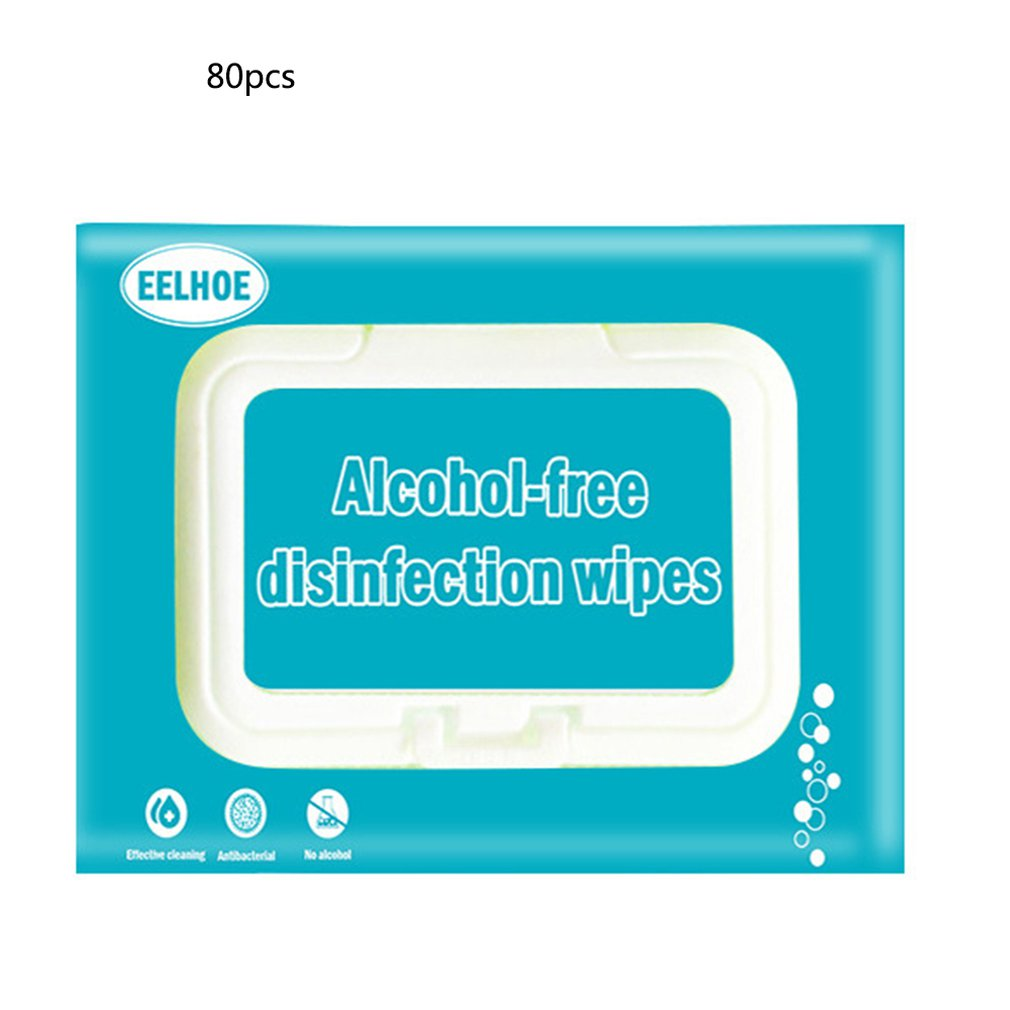Disposable Hand-Cleaning Antibacterial Wipes Disinfection Portable Alcohol-Free Wipes For Restaurant Kitchen 1 Bag
