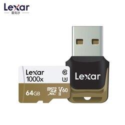 2019 جديد ليكسر 150 برميل/الثانية 1000x مايكرو SD 32GB فئة 10 64GB مايكرو SDXC 128GB tf قارئ بطاقات الذاكرة UHS ل الطائرة بدون طيار الرياضة كاميرا الفيديو