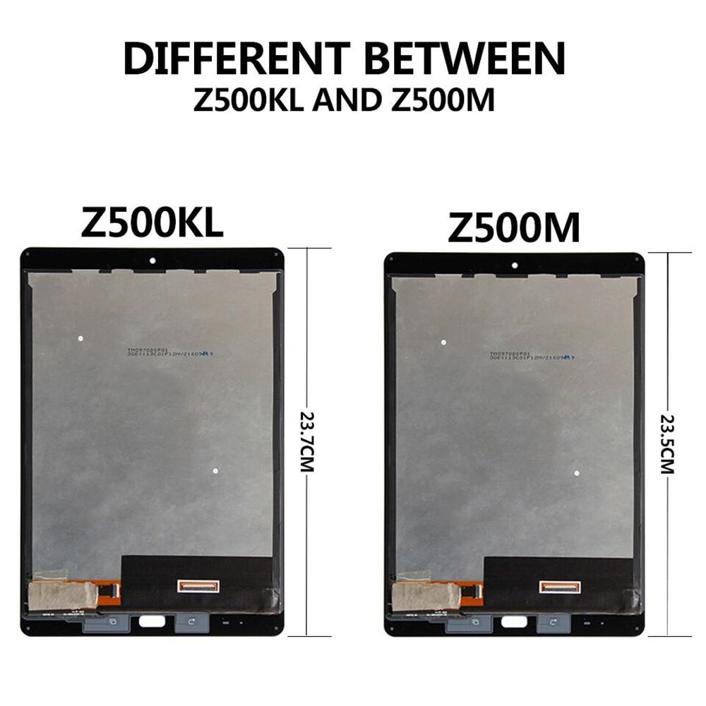 For Asus ZenPad 3S Z10 Z500M P027 Z500KL P001 ZT500KL LCD Display Touch Screen Digitizer Sense Assembly
