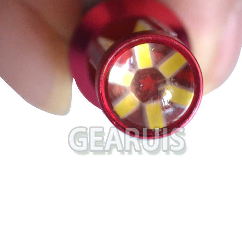 100pcs 1156 BA15S BAU15S 280MA 78 SMD 4014 עדשת LED אור 1157 BAY15D הפוך הפעל אות אור בלם מנורה לבן אדום צהוב 12V