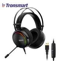 [IN STOCK] Tronsmart Glary Virtual 7.1 Stereo Sound Gaming Headset with Colorful LED Lighting, USB Port for Nintendo Switch/PS4