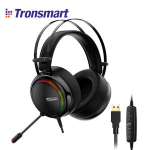 [IN STOCK] Tronsmart Glary Virtual 7.1 Stereo Sound Gaming Headset with Colorful LED Lighting, USB Port for Nintendo SwitchPS4
