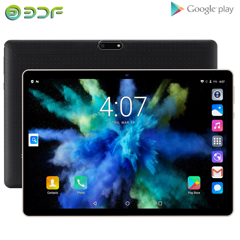 2020 New 10.1 Inch Tablets Android 7.0 Quad Core 3G Phone Call Tablet 32GB Wi-Fi Bluetooth Dual SIM GPS Tablet PC+Keyboard