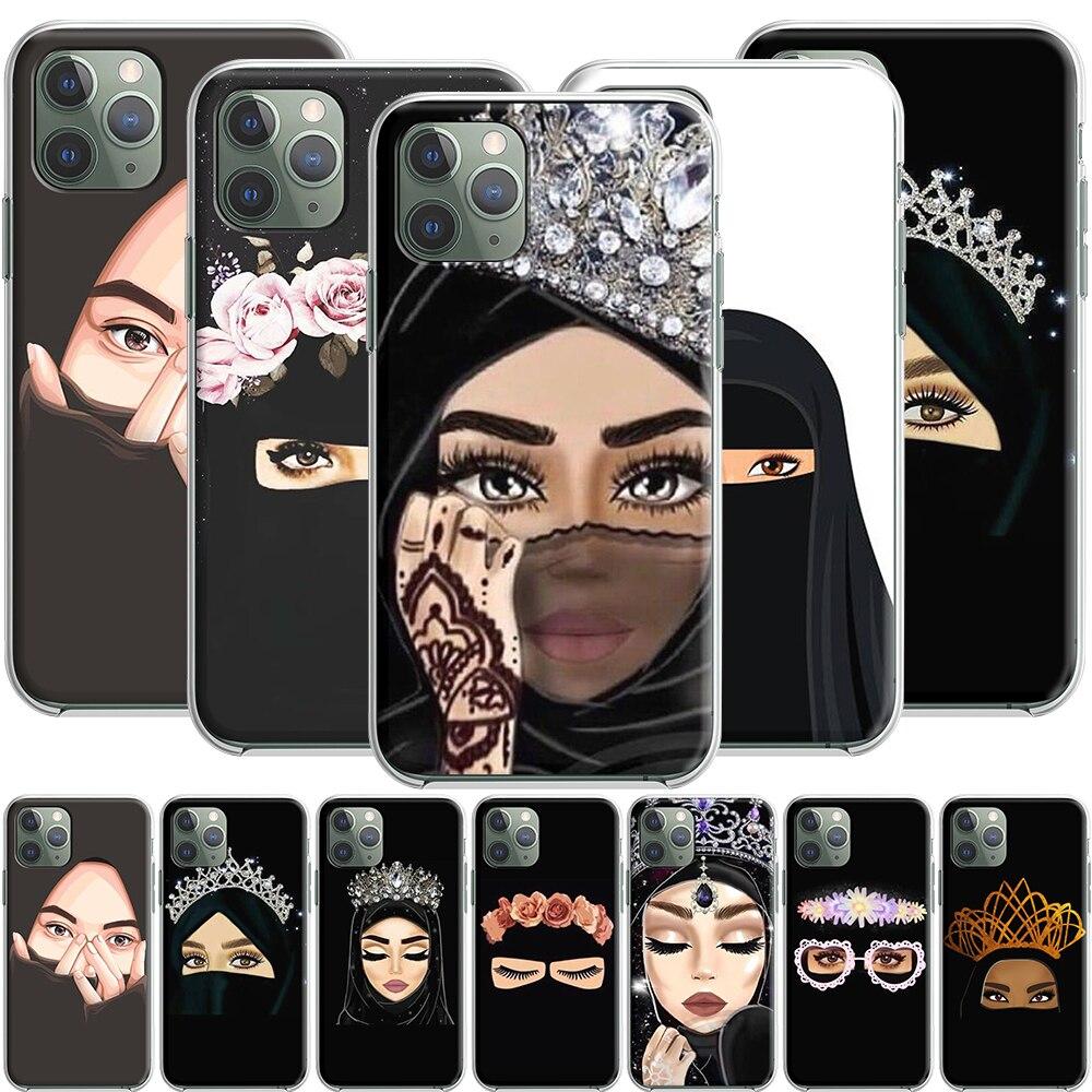 Хиджаб мусульманский исламский силиконовый чехол для Apple iPhone 12 Mini 11 Pro SE XS X XR Max 8 7 6S 6 Plus 5S