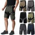 Мужские уличные спортивные велосипедные шорты, мужские горные Защитные шорты MTB, шорты для горного велосипеда, дышащие шорты Ciclismo