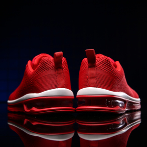 Image 3 - NASONBERG Breathable Soft Men Casual Shoes Height Increasing Non slip Sneakers Men Red Shoes Woman Massage Men Shoes