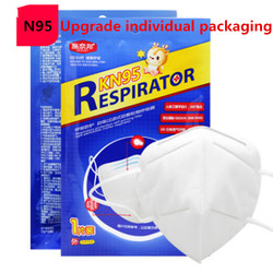 Fast Shipping Mask N95 Mouth Face Disposable Masks Filter for germ protection Thicken Filtraion Cotton Anti Dust pm2.5 Bacteria 6
