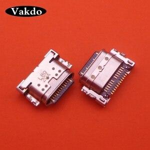 Image 2 - 50 adet USB şarj portu konnektörü fişi soket Dock onarım bölümü Motorola MOTO G7/G7 artı/G7 güç/G7 oyun
