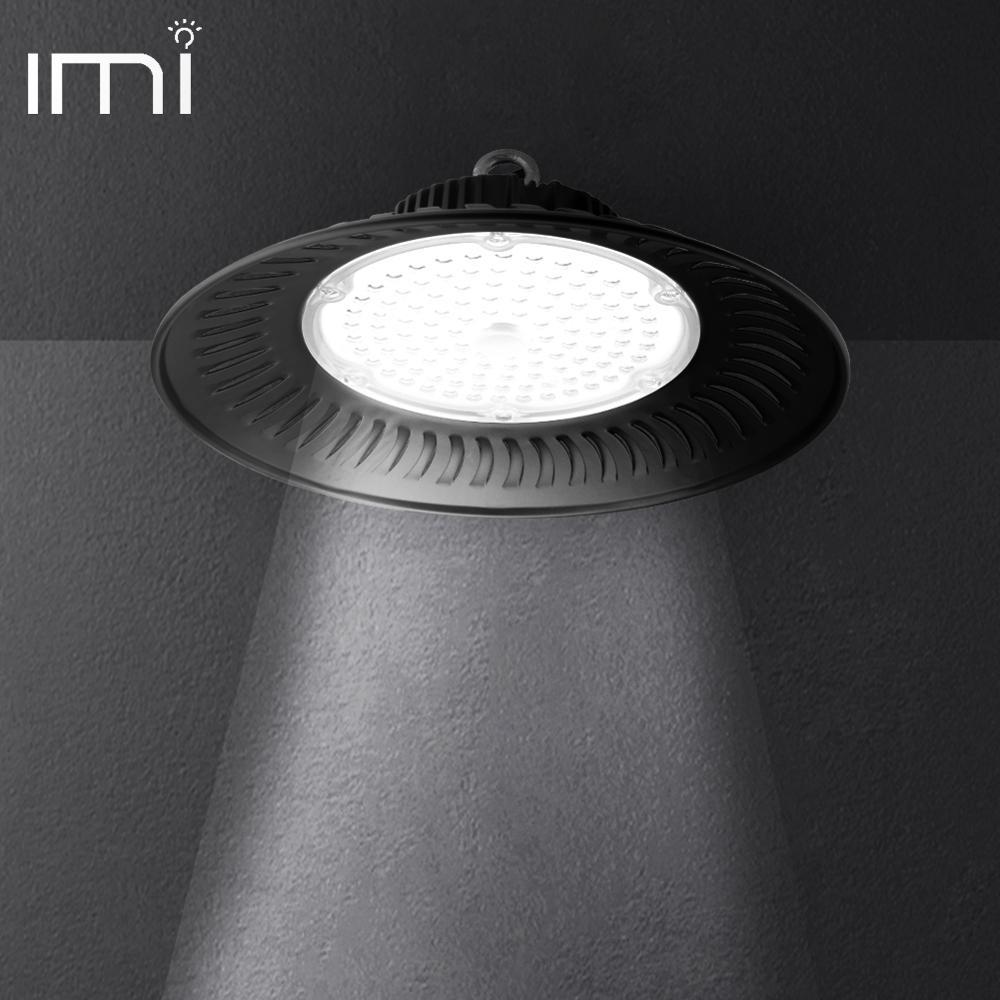 luz alta conduzida da baia 50 w 100 w 200 w iluminacao industrial comercial a prova