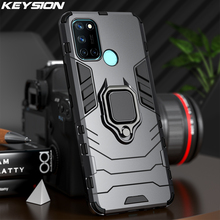 KEYSION Shockproof Case for Realme 7 7i 6 Pro V5 Q2 Pro C15 C12 C17 C11 C3 X7 X50 Phone Back Cover for OPPO F17 Pro A73 2020 A93