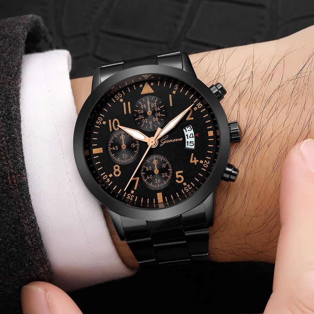 2019 Newest Design Reloj De Los Hombres Luxury Fashion Watch Man Quartz Watches Analog Wrist Watch Men Relogio Masculino Erkek