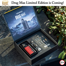 VOOPOO DRAG Max Limited Edition Gift Box 177W Vape Mod Kit RTA MTL PnP Pod Tank Coils No Dual 18650 Battery Electronic Cigarette
