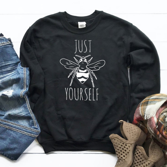 gray sweatshirt yoga top save the bees sweatshirt bee shirt yoga top dancewear bee sweatshirt Just Bee Sweatshirt save the bees