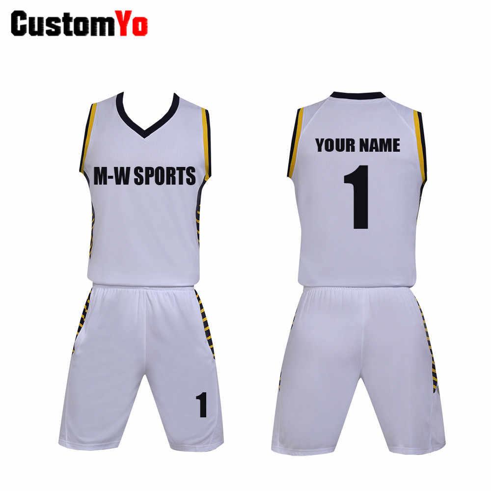 Tanie szorty do koszykówki szkolenie zespołowe koszulka koszykarska najwyższej jakości odzież do koszykówki