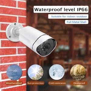 Image 2 - 5MP 3.0MP 2MP étanche en plein air IR coupe nuit Vision réseau de sécurité CCTV Onvif IP 48V POE H265 caméra Audio IOS/android vue