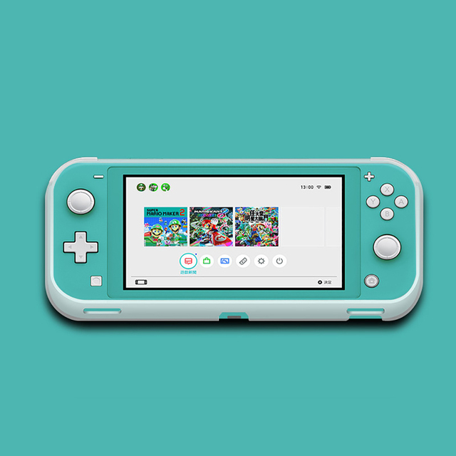 Rubber Cover Shell For Nintendo Switch Lite