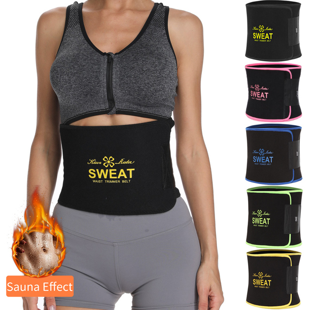 Waist Trainer Trimmer Body Shaper Tummy Shapewear Modeling Belt Cincher Girdle Slimming Shapers Corset Weight Loss Promote Sweat