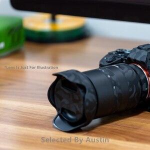 Image 2 - Premium lentille peau garde ombre noir pour Sony Prime lentille décalcomanie protecteur anti rayures Film autocollant couverture