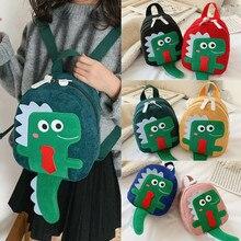 Toddler Kids Children's Fashion Dinosaur Cartoon MINI Zipper Backpack Bag mochilas infantil bag girl
