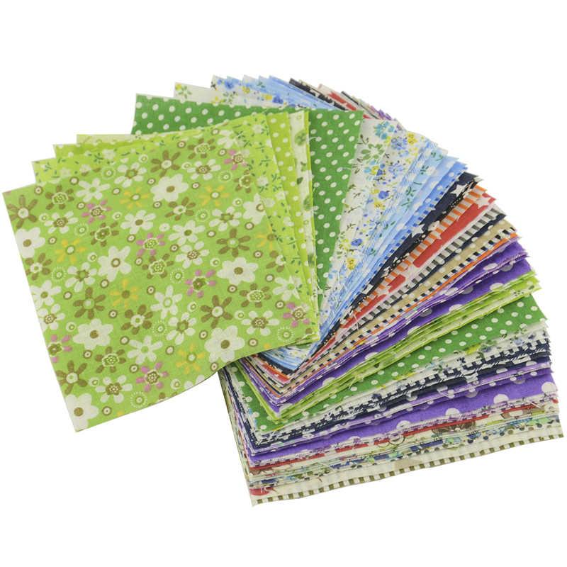 Booksew 30 Stks/partij 10Cm X 10Cm Willekeurig Tecidos Charme Packs Geen Herhaling Tissue Telas De Algodon Para Patchwork 100% Katoen Stof