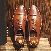 DESAI Männer Echte Leder Business Kleid Schuhe Formale Schuhe Tragen Männer Unsichtbare Erhöhen Weiche Futter Casual Schuhe EU Größe 38-45