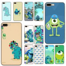 Mobile Phone Case For iPhone 6 6s 7 8 P Lus XR X XS Max 5 5S SE Hard Cover Monsters University Sulley Mike Shell Protection(China)