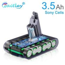 Waitley 216 v 3500mah аккумуляторная батарея для dyson v6 35ah