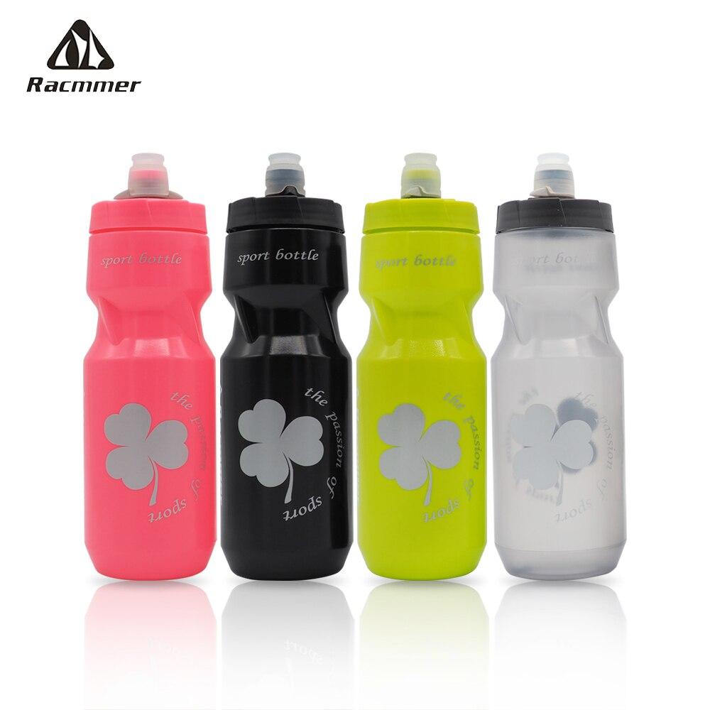 Racmmer Bicycle Bike Water Bottle Bidon Cycliste Ciclismo Pro Leak-proof  Squeeze Waterbottle Cycling Sport Bottle Mtb 4 Colors
