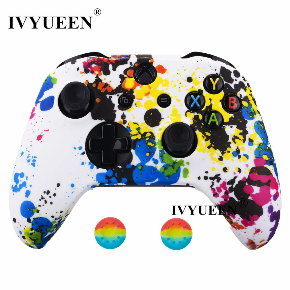 for Xbox one S X controller silicone case kin 4