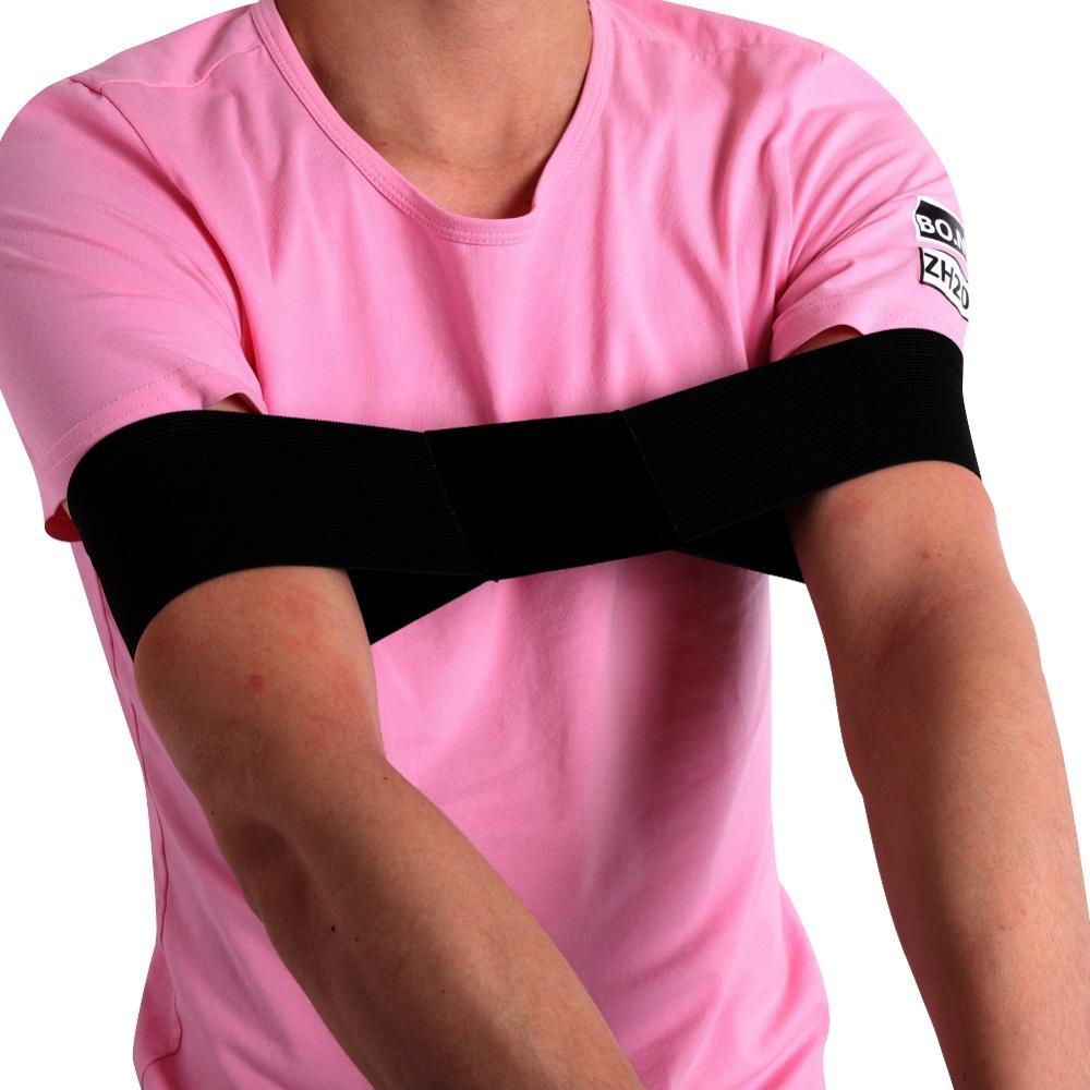 35 X 7 Cm New Elastic Nylon Golf Arm Posture Motion Correction Belt Golf Beginner Training Aids Durable Golf Training Equipment