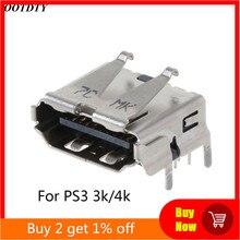 プレイステーション3 PS3 hd ps 3スーパースリム3000 4000 3 18k 4 hdmiポートジャックソケットインタフェース交換