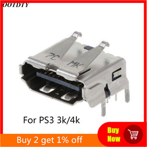 Image 1 - For Playstation 3 PS3 HD PS 3 Super Slim 3000 4000 3K 4K HDMI Port Jack Socket Interface Connector Replacement