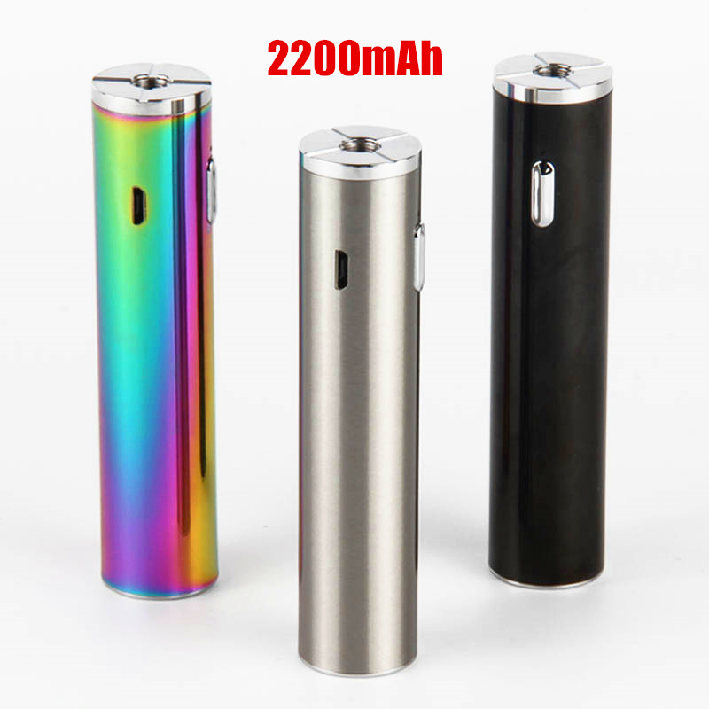 TVR <font><b>30</b></font> Replaceable Mod 3 colors 30W Electronic Cigarette 510 thread <font><b>Vape</b></font> battery for IJust S Atomizer Vs IJust 3 / ego aio image