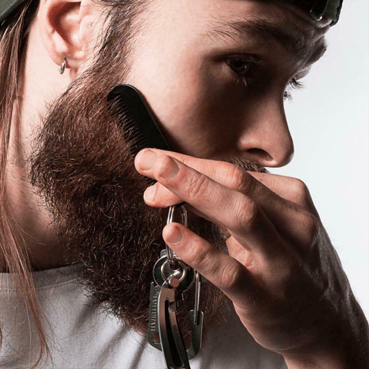 essencial óleo cuidados faciais barba kit com pente homme