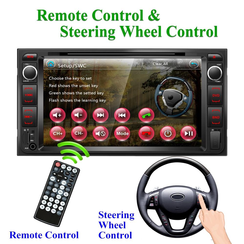 Digital Media Bluetooth Receiver w//USB//AUX+Remote For 2006 Toyota Tundra
