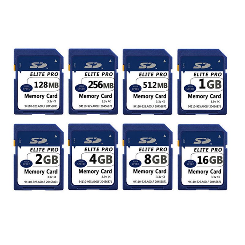 SD Carte 128 MB 256 MB 512 MB 1 GB 2 GB 4 GB 8 GB 16 GB Speicherkarte mémoire stick pro duo Secure Digital-Cartao de Memori Carte