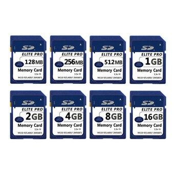 SD Card 128MB  256MB  512MB  1GB  2GB  4GB  8GB  16GB Speicherkarte memory stick pro duo Secure Digital-Cartao de Memori Carte