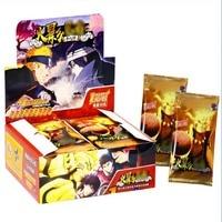 Naipes-Cartas de papel de cartas para niños, juego de cartas de un juego, periférico de animé, colección de personajes, regalo para chico