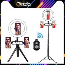 Orsda Led Ring Light selfie  ringlight lamp video Studio light ring lamp with tripod for photo Youtube tik tok hight 3500 5500k