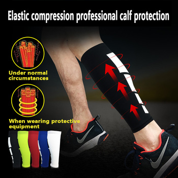 Unisex Legging Shinguards Sleeves Football Sport Cycling Shin Guard Calf Sleeve Compression Leg Warmers Protective Gear image