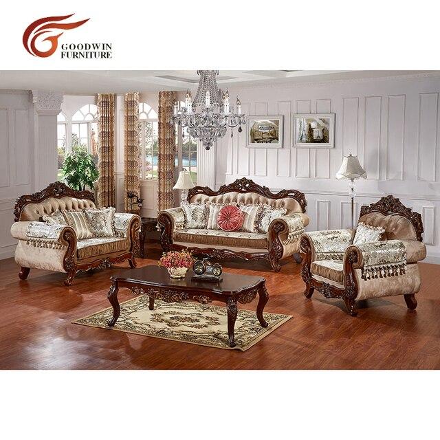 European Antique Living Room Sofa Furniture  1