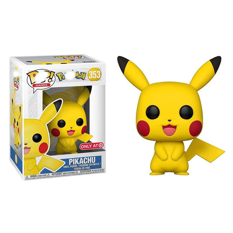 Funko POP Anime Cartoon Pokemones Pikachu PVC Vinyl Action Figures Brinquedos Collection Model Toys For Children Christmas Gift