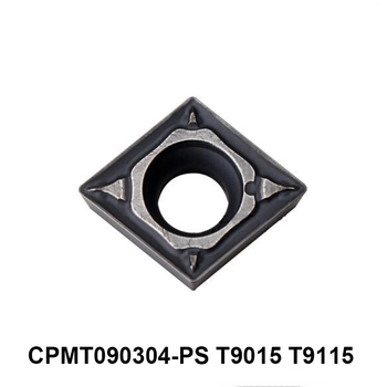 Original Tungaloy CPMT090304-PS T9015 CPMT090304-PS T9115 CPMT 090304 090304 Carbide Inserts Lathe Tools Turning Cutter CNC
