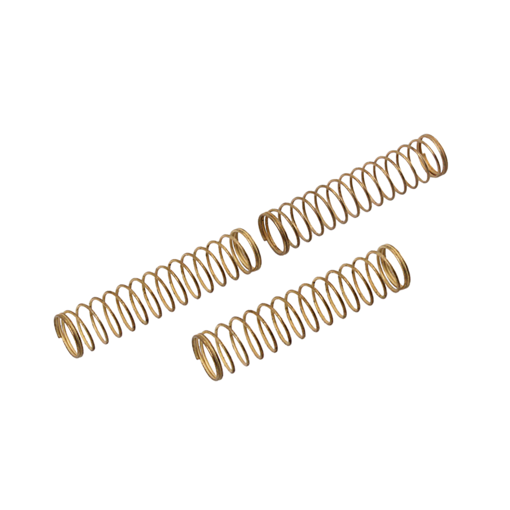 3 Pieces Trumpet Springs Metal, Musical Instrument Parts For Trumpet